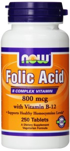Folic Acid Can Reduce Cases of Spina Bifida. Available Here At Amazon
